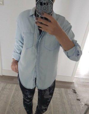 Calvin Klein Jeans Jeansowa koszula jasnoniebieski-jasnoniebieski