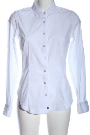 Calvin Klein Jeans Langarmhemd weiß Casual-Look