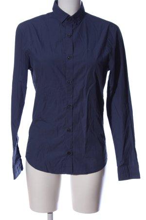 Calvin Klein Jeans Langarmhemd blau Business-Look