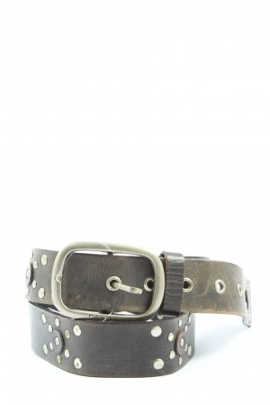 Calvin Klein Jeans Leather Belt black casual look