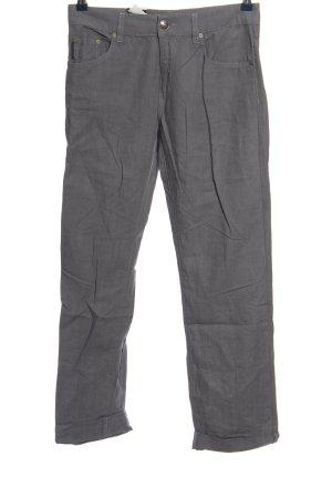 Calvin Klein Jeans Pantalón de lino gris claro look casual