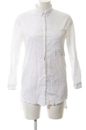 Calvin Klein Jeans Long-Bluse weiß Elegant