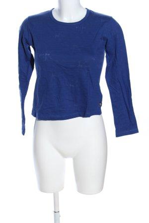 Calvin Klein Jeans Longshirt blau Allover-Druck Casual-Look