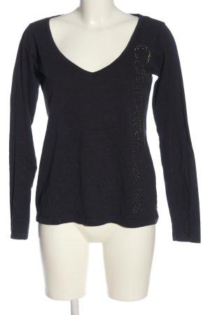 Calvin Klein Jeans Longsleeve schwarz Casual-Look