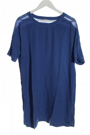 Calvin Klein Jeans Bluzka o kroju koszulki niebieski W stylu casual
