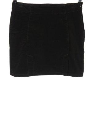 Calvin Klein Jeans Minirock schwarz Business-Look