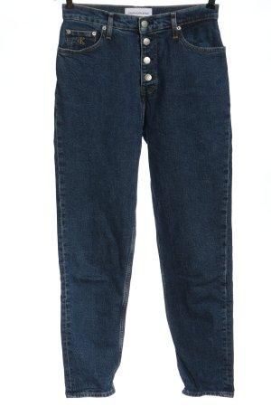 Calvin Klein Jeans Jean mom bleu style décontracté