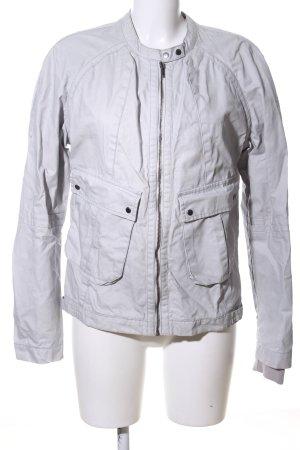 Calvin Klein Jeans Outdoorjacke hellgrau Casual-Look