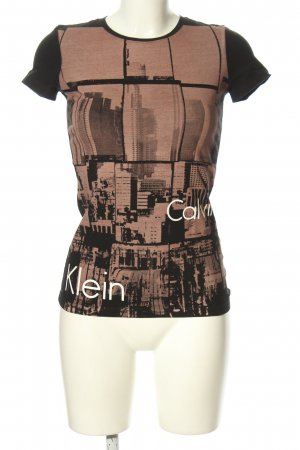 Calvin Klein Jeans Print-Shirt Motivdruck Casual-Look