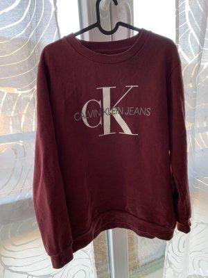 Calvin Klein Jeans Lange jumper veelkleurig Katoen