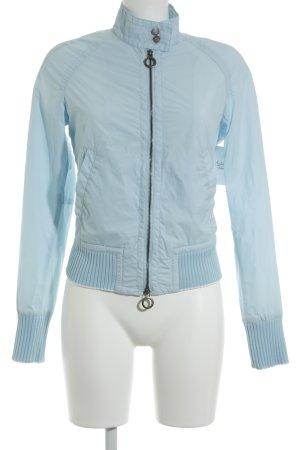 Calvin Klein Jeans Regenjacke himmelblau Casual-Look