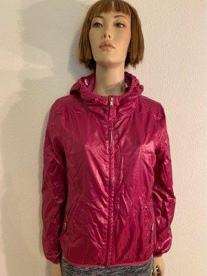 Calvin Klein Jeans Kurtka przeciwdeszczowa różowy neonowy-purpurowy