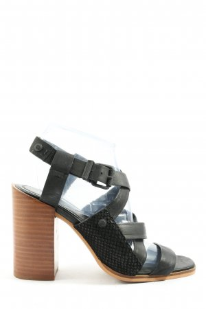 Calvin Klein Jeans Strapped Sandals black casual look