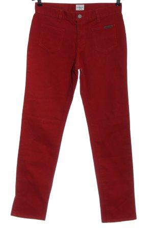 Calvin Klein Jeans Röhrenjeans rot Casual-Look