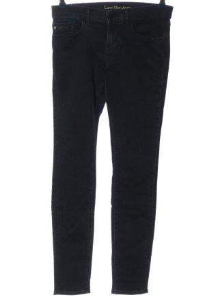 Calvin Klein Jeans Röhrenjeans schwarz Casual-Look