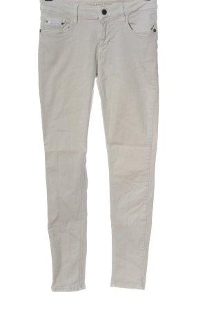 Calvin Klein Jeans Jeansy rurki w kolorze białej wełny W stylu casual