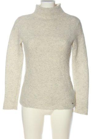 Calvin Klein Jeans Pull-over à col roulé gris clair moucheté
