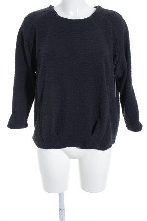 Calvin Klein Jeans Rundhalspullover anthrazit Street-Fashion-Look