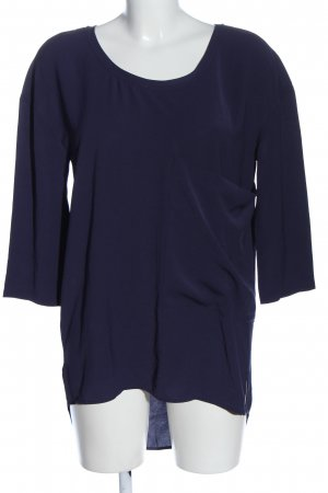 Calvin Klein Jeans Schlupf-Bluse blau Casual-Look