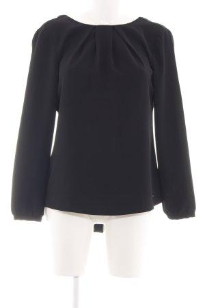 Calvin Klein Jeans Schlupf-Bluse schwarz Business-Look