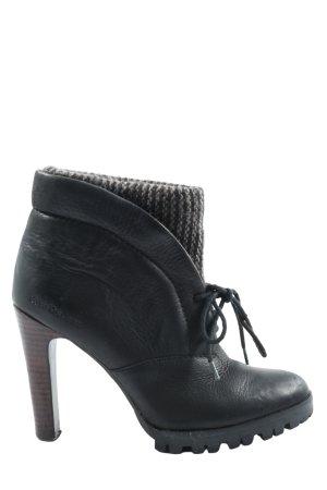 Calvin Klein Jeans Bottines à lacets noir-gris clair élégant