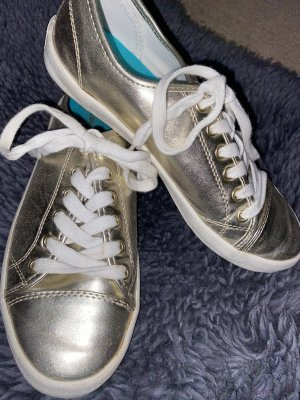 Calvin Klein Jeans Lace-Up Sneaker gold-colored