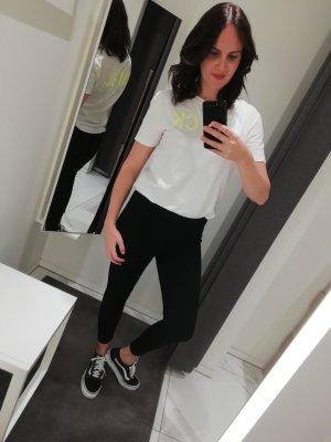 Calvin Klein Jeans Shirt T-Shirt Print Logo Neon