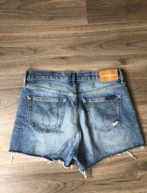 Calvin Klein Jeans Short en jean bleuet