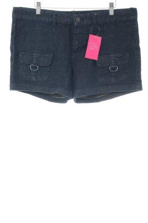 Calvin Klein Jeans Shorts blau Casual-Look