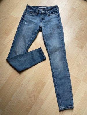 Calvin Klein Jeans Boyfriend jeans azuur-blauw