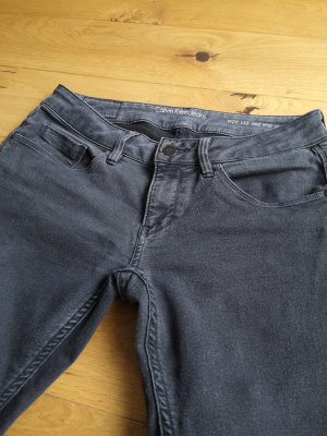 Calvin Klein Jeans Jeans a 7/8 antracite