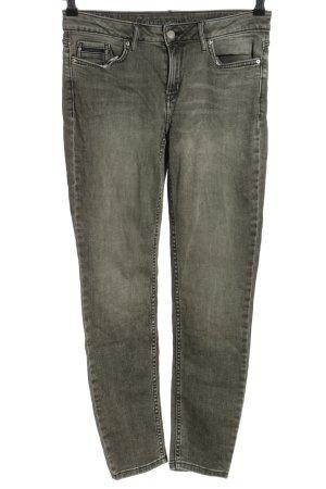 Calvin Klein Jeans Skinny Jeans hellgrau Casual-Look