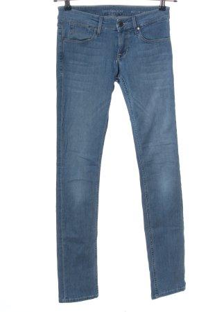 Calvin Klein Jeans Skinny Jeans blau Casual-Look