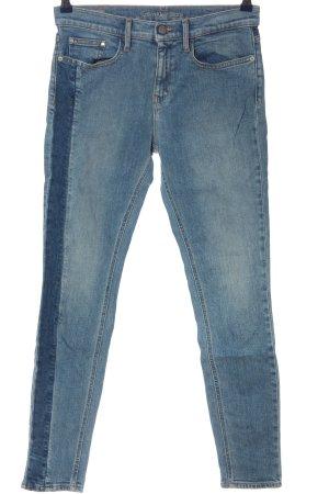 Calvin Klein Jeans Jeansy o obcisłym kroju niebieski W stylu casual