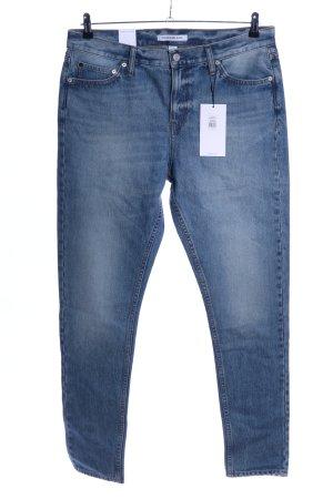 Calvin Klein Jeans Slim Jeans blau Casual-Look