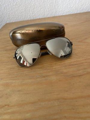 Calvin Klein Jeans Okulary pilotki złoto