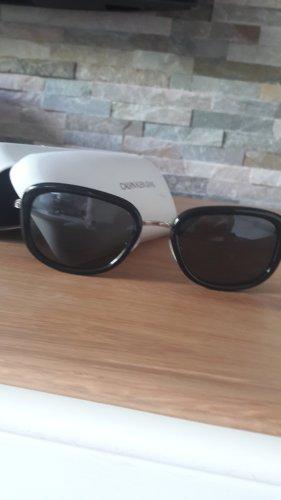Calvin Klein Jeans Kwadratowe okulary przeciwsłoneczne czarny