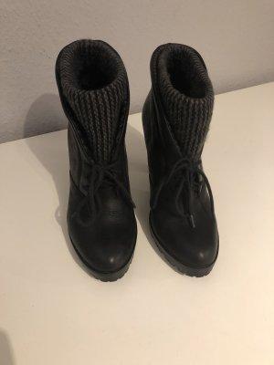 Calvin Klein Jeans Winter Booties black-grey