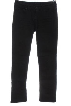 Calvin Klein Jeans Jeansy z prostymi nogawkami czarny W stylu casual