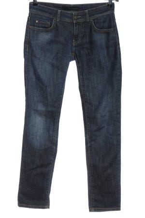 Calvin Klein Jeans Jeansy z prostymi nogawkami niebieski W stylu casual