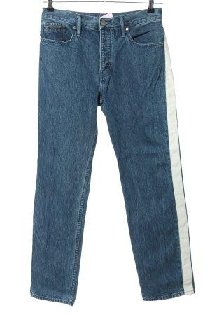 Calvin Klein Jeans Jeans coupe-droite bleu style décontracté