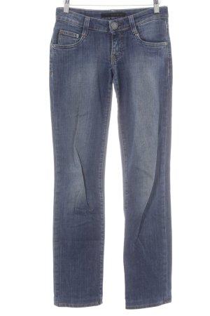 Calvin Klein Jeans Straight-Leg Jeans blau Washed-Optik