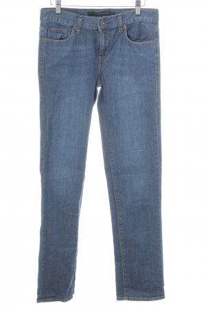 Calvin Klein Jeans Jeansy z prostymi nogawkami ciemnoniebieski W stylu casual