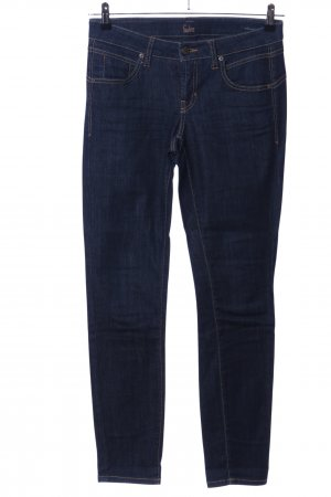 Calvin Klein Jeans Stretch Jeans blau Casual-Look