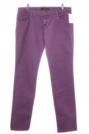Calvin Klein Jeans Stretch Jeans lila Casual-Look