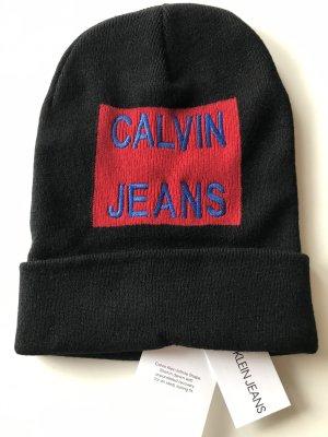 Calvin Klein Jeans Chapeau en tricot multicolore