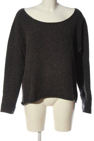 Calvin Klein Jeans Pull tricoté gris clair moucheté style décontracté