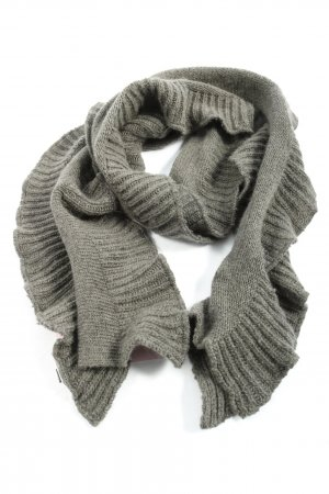 Calvin Klein Jeans Knitted Scarf light grey casual look