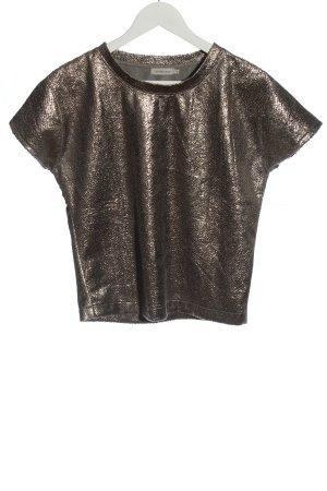 Calvin Klein Jeans Koszula o skróconym kroju brązowy W stylu casual