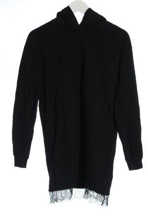 Calvin Klein Jeans Kapuzensweatshirt schwarz Casual-Look